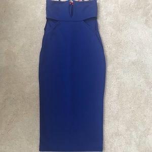 Royal Blue Boohoo dress! Size 4